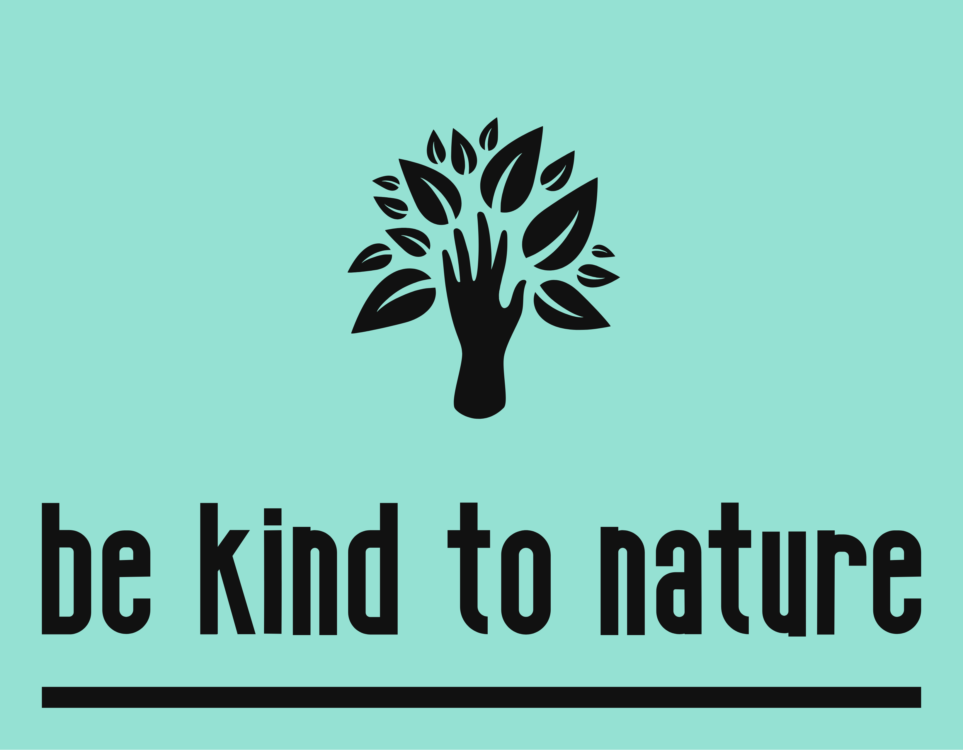 Be Kind to Nature